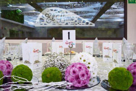 centro de mesa salones para bodas en Albacete