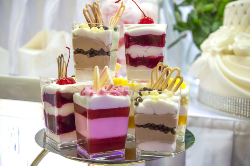 Tartas, pasteles y otros dulces para tu boda